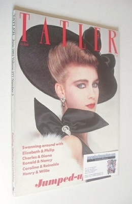 <!--1982-06-->Tatler magazine - June 1982 - Lady Vivienne Haig cover