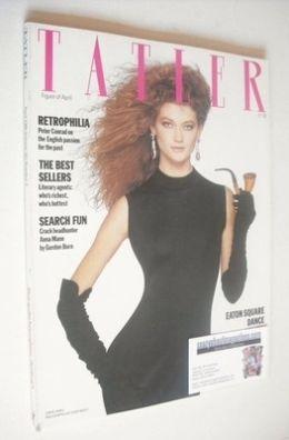 <!--1986-04-->Tatler magazine - April 1986 - Sophie Ward cover
