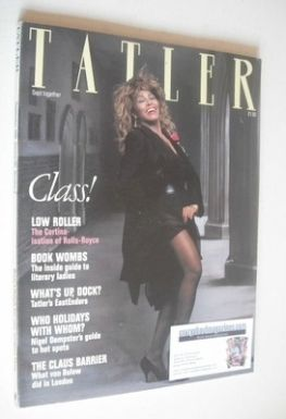 <!--1986-09-->Tatler magazine - September 1986 - Tina Turner cover