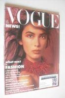 <!--1986-01-->British Vogue magazine - January 1986