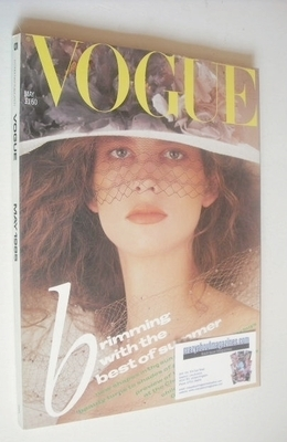 <!--1985-05-->British Vogue magazine - May 1985