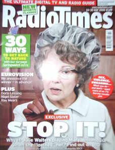 <!--2008-05-24-->Radio Times magazine - Julie Walters cover (24-30 May 2008
