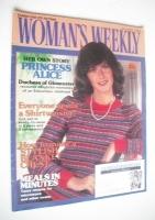 <!--1983-04-02-->Woman's Weekly magazine (2 April 1983 - British Edition)
