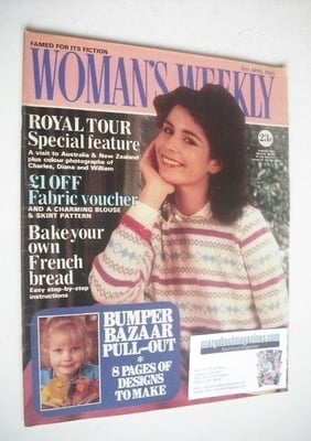 <!--1983-04-16-->Woman's Weekly magazine (16 April 1983 - British Edition)