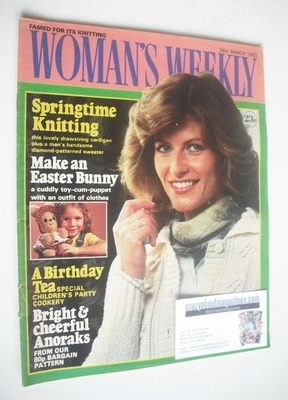 <!--1983-03-26-->Woman's Weekly magazine (26 March 1983 - British Edition)