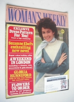 <!--1983-04-23-->Woman's Weekly magazine (23 April 1983 - British Edition)