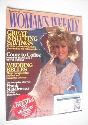 <!--1983-04-09-->Woman's Weekly magazine (9 April 1983 - British Edition)
