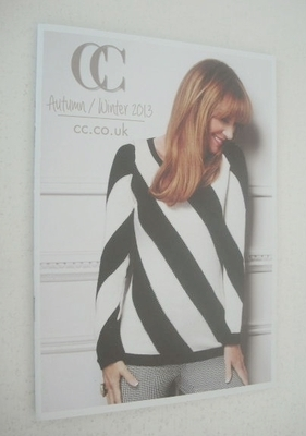CC clothing brochure - Jane Seymour cover (Autumn/Winter 2013 collection)