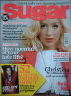 Sugar magazine - Christina Aguilera cover (December 2006)