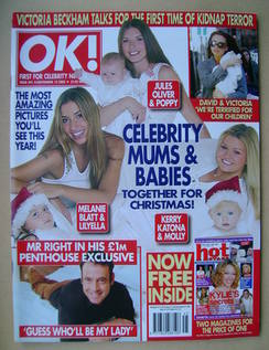 <!--2002-11-13-->OK! magazine - 13 November 2002 (Issue 341)