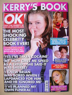 <!--2006-09-26-->OK! magazine - Kerry Katona cover (26 September 2006 - Iss