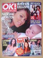 <!--2003-04-01-->OK! magazine - Natasha Hamilton cover (1 April 2003 - Issue 360)