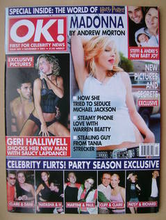 <!--2001-11-09-->OK! magazine (9 November 2001 - Issue 289)