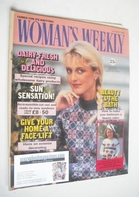 <!--1983-05-07-->Woman's Weekly magazine (7 May 1983 - British Edition)