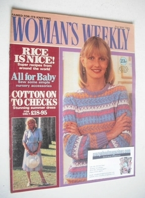 <!--1983-05-21-->British Woman's Weekly magazine (21 May 1983 - British Edi