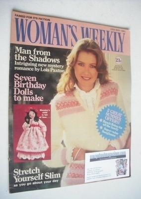 <!--1983-05-28-->British Woman's Weekly magazine (28 May 1983 - British Edi