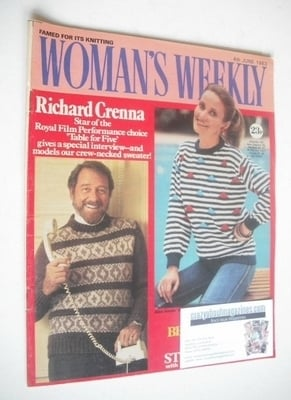 <!--1983-06-04-->British Woman's Weekly magazine (4 June 1983 - British Edi