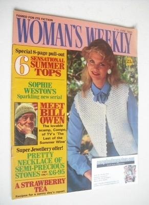 <!--1983-06-11-->British Woman's Weekly magazine (11 June 1983 - British Ed