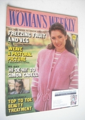 <!--1983-06-18-->British Woman's Weekly magazine (18 June 1983 - British Ed