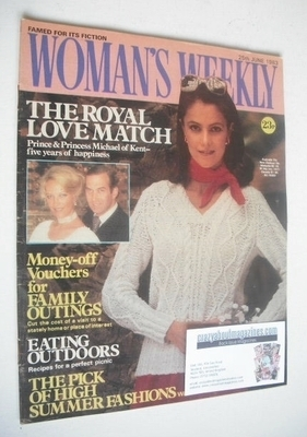 <!--1983-06-25-->British Woman's Weekly magazine (25 June 1983 - British Ed