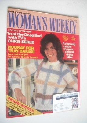 <!--1983-07-02-->British Woman's Weekly magazine (2 July 1983 - British Edi