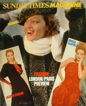 <!--1984-03-18-->The Sunday Times magazine - London/Paris Fashion Preview c