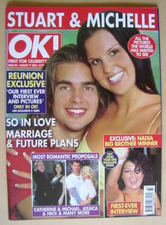 <!--2004-08-17-->OK! magazine - Stuart Wilson and Michelle Bass cover (17 A
