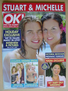 <!--2004-08-31-->OK! magazine - Stuart Wilson and Michelle Bass cover (31 A