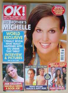 <!--2004-08-10-->OK! magazine - Michelle Bass cover (10 August 2004 - Issue