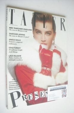 <!--1983-12-->Tatler magazine - December 1983/January 1984 - Amanda Pays co
