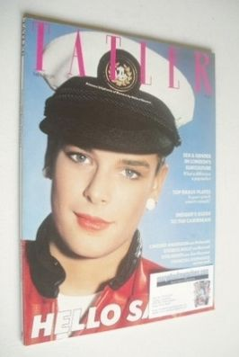 <!--1984-02-->Tatler magazine - February 1984 - Princess Stephanie cover