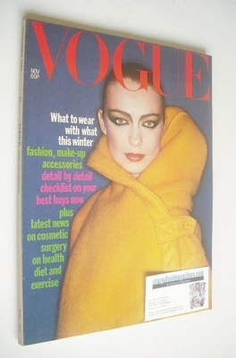 <!--1976-11-->British Vogue magazine - November 1976 (Vintage Issue)