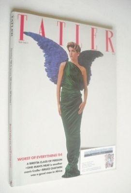 <!--1984-12-->Tatler magazine - December 1984/January 1985 - Lara Ivanovic