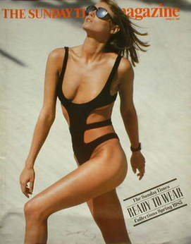 <!--1985-04-21-->The Sunday Times magazine - Ready To Wear Collections cove