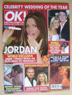 <!--2004-07-13-->OK! magazine - Jordan cover (13 July 2004 - Issue 426)