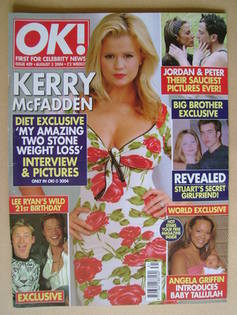 <!--2004-08-03-->OK! magazine - Kerry McFadden cover (3 August 2004 - Issue