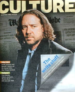 <!--2009-04-05-->Culture magazine - Russell Crowe cover (5 April 2009)