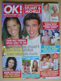 <!--2004-07-27-->OK! magazine - Stuart Wilson and Michelle Bass cover (27 J
