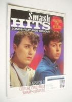 <!--1982-12-23-->Smash Hits magazine - Tears For Fears cover (23 December 1982 - 5 January 1983)
