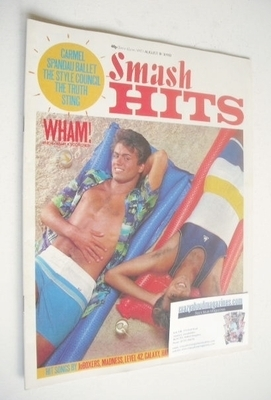 <!--1983-08-18-->Smash Hits magazine - George Michael and Andrew Ridgeley c