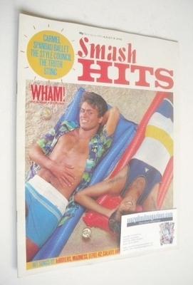 <!--1983-08-18-->Smash Hits magazine - George Michael and Andrew Ridgeley c