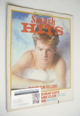 <!--1983-09-15-->Smash Hits magazine - Steve Lambert cover (15-28 September