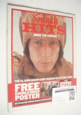 <!--1983-10-13-->Smash Hits magazine - Derek Dunbar cover (13-26 October 19