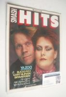 <!--1982-05-13-->Smash Hits magazine - Yazoo cover (13-26 May 1982)