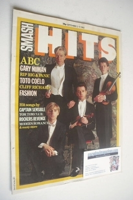 <!--1982-09-02-->Smash Hits magazine - ABC cover (2-15 September 1982)