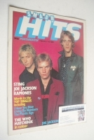 <!--1980-02-07-->Smash Hits magazine - The Police cover (7-20 February 1980)