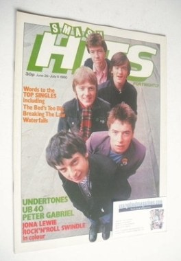 <!--1980-06-26-->Smash Hits magazine - The Undertones cover (26 June - 9 Ju