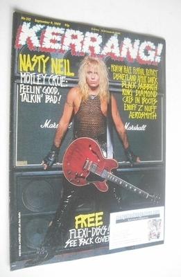 <!--1989-09-09-->Kerrang magazine - Vince Neil cover (9 September 1989 - Is