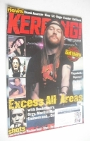 <!--1999-08-21-->Kerrang magazine - Axl Rose cover (21 August 1999 - Issue 764)