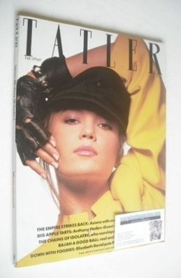 <!--1985-02-->Tatler magazine - February 1985 - Diane Lane cover